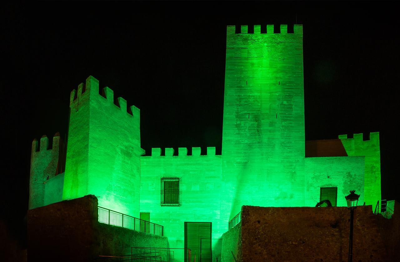 La Ola de luz Verde ilumina Bétera